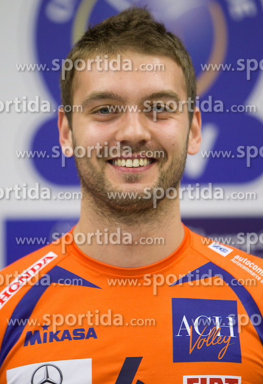 Vladko Petkovic at press conference of volleyball club ACH Volley before new season 2010/2011, on November 5, 2010, in Ljubljana, Slovenia. (Photo by Vid Ponikvar / Sportida)