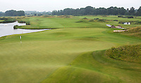SPIJK - Hole 10 van The Dutch .   Golfbaan THE DUTCH, waar het KLM Open in september 2016 zal worden gehouden. COPYRIGHT KOEN SUYK