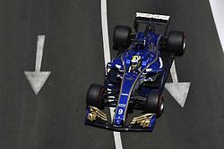 June 24, 2017 - Baku, Azerbaijan - Motorsports: FIA Formula One World Championship 2017, Grand Prix of Europe, .#9 Marcus Ericsson (SWE, Sauber F1 Team) (Credit Image: © Hoch Zwei via ZUMA Wire)