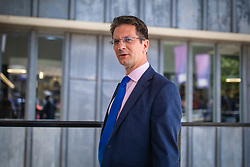 © Licensed to London News Pictures. 23/07/2019. London, UK. Steve Baker MP arrives for the result of the Conservative Party leadership race. Boris Johnson has been elected as Leader of the Conservative Party and will become the next Prime Minister. Photo credit: Rob Pinney/LNP