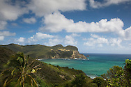 Dennery Bay on the East Coast of St Lucia