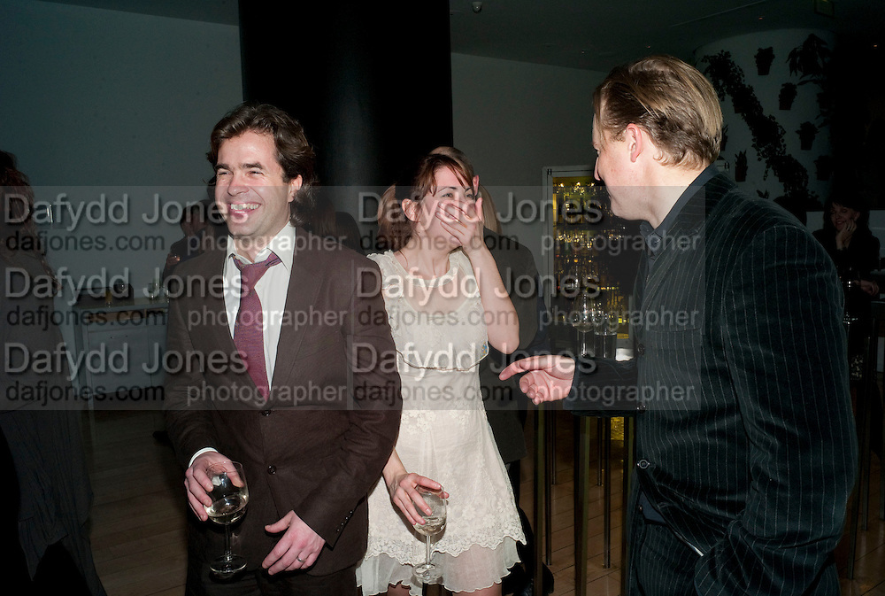 RUPERTY GOOLD; LUCY PREBBLE; SAM WEST;  Press night for the West End opening of ENRON.<br /> No'l Coward Theatre, St Martin's Lane, London WC2, afterwards: Asia De Cuba, St Martins Lane Hotel,  London. 25 January 2010<br /> RUPERTY GOOLD; LUCY PREBBLE; SAM WEST;  Press night for the West End opening of ENRON.<br /> Noël Coward Theatre, St Martin's Lane, London WC2, afterwards: Asia De Cuba, St Martins Lane Hotel,  London. 25 January 2010
