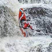 Kayaking Shohola Falls 1.6.2019