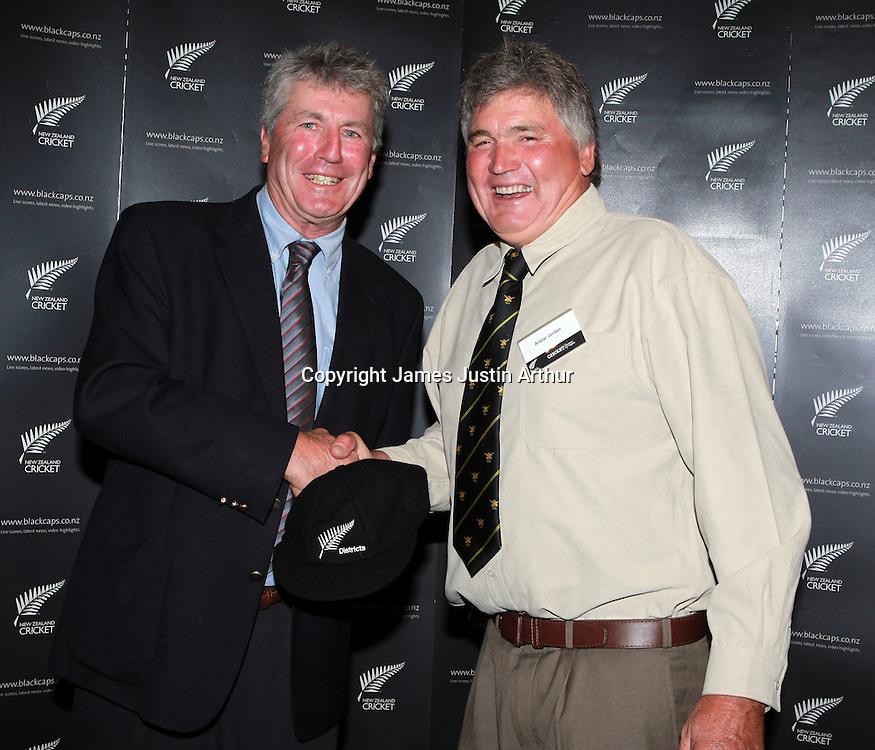 100 Years of New Zealand District Cricket. James Cook Hotel.Wellington. Saturday 15 January 2011. Photo: Justin Arthur /  photosport.co.nz