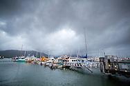 Cairns Boat Harbour. Cairns, Queensland, Australia. 31/05/2012. Photo By Lucas Wroe.