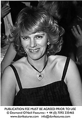 CAMILLA PARKER BOWLES at a ball in March 1983.<br /> JHL 60 wo<br /> PUBLICATION FEE MUST BE AGREED PRIOR TO USE<br /> © Desmond O'Neill Features:- + 44 (0) 7092 235465<br /> www.donfeatures.com   info@donfeatures.com