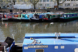 UK ENGLAND LONDON 2MAY16 - London Canal boats on permanent moorings at Little Venice, Maida Vale, west London.<br /> <br /> jre/Photo by Jiri Rezac<br /> <br /> © Jiri Rezac 2016