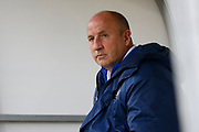 John Coleman Manager/Head Coach of Accrington Stanley during the EFL Sky Bet League 1 match between Doncaster Rovers and Accrington Stanley at the Keepmoat Stadium, Doncaster, England on 23 April 2019.
