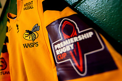 A general view of Wasps dressing room at Northampton Saints - Mandatory by-line: Robbie Stephenson/JMP - 28/09/2019 - RUGBY - Franklin's Gardens - Northampton, England - Northampton Saints v Wasps - Premiership Rugby Cup