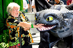 Image ©Licensed to i-Images Picture Agency. 22/06/2014. London, United Kingdom. Bill Oddie during screening of 'How To Train Your Dragon 2' in 3D. . Picture by Chris Joseph / i-Images