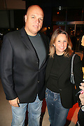 Shari Arison major share holder in Bank Hapoalim and husband Ofer Glazer, who recently was found guilty of sexual harassment and sentenced to 6 months imprisonment, October 2006