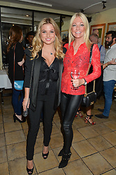 Left to right, ZARA HOLLAND and her mother CHERYL HAKENEY at a party hosted by Fred Sirieix, Maître d' on Channel 4's 'First Dates' at his favourite Spanish restaurant, El Pirata, 5-6 Down Street, London to celebrate the publication of his new book 'First Dates: The Art of Love' on 10th October 2016.