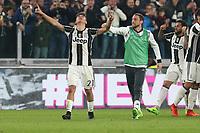 10.03.2017 - Torino - Serie A 2016/17 - 28a giornata  -  Juventus-Milan nella  foto: Paulo Dybala  abbracciato da Claudio Marchisio