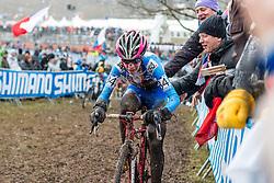Martina Mikulaskova (CZE), Women Elite, Cyclo-cross World Championships Tabor, Czech Republic, 31 January 2015, Photo by Pim Nijland / PelotonPhotos.com