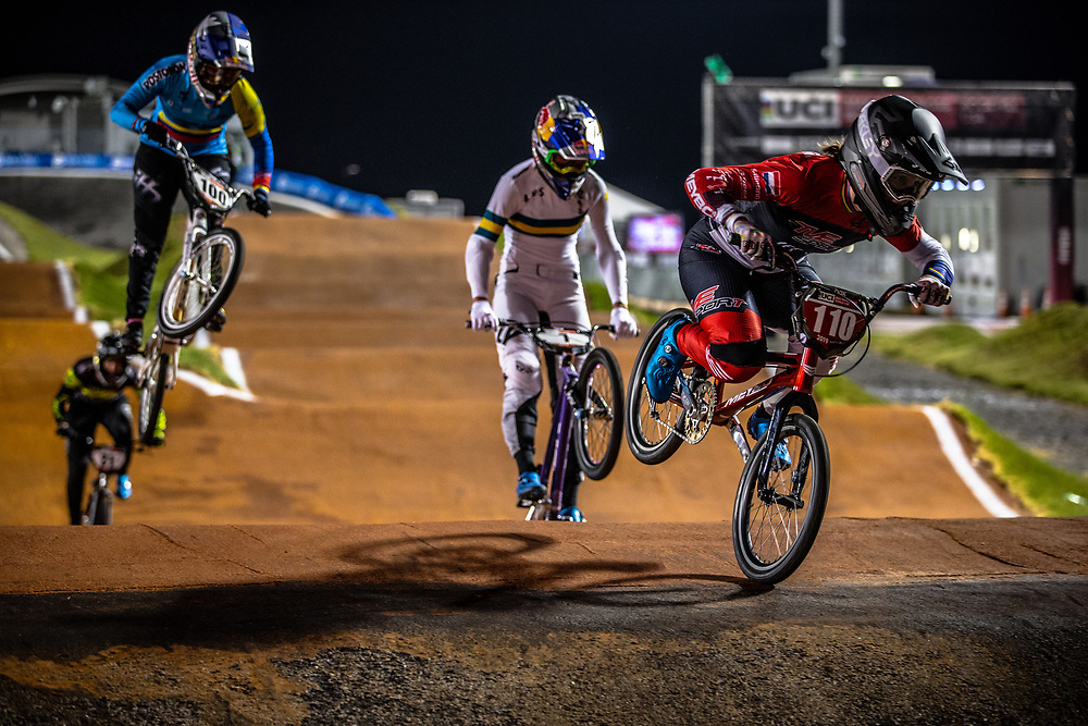 #110 (SMULDERS Laura) NED TVE Meybo at Round 7 of the 2019 UCI BMX Supercross World Cup in Rock Hill, USA