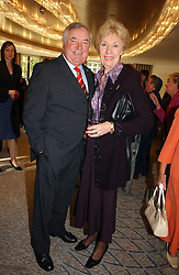 JIMMY TARBUCK and JOAN MORECAMBE at the Lady Taverners Tribute lunch in honour of Ronnie Corbett held at The Dorchester Hotel, Park Lane, London on 3rd November 2006.<br /><br />NON EXCLUSIVE - WORLD RIGHTS