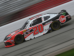 February 23, 2019 - Hampton, GA, U.S. - HAMPTON, GA - FEBRUARY 23: Christopher Bell, Joe Gibbs Racing, Toyota Supra Rheem (20) races through the front stretch during the Xfinity Series Rinnai 250 on February 23, 2019, at Atlanta Motor Speedway in Hampton, GA.(Photo by Jeffrey Vest/Icon Sportswire) (Credit Image: © Jeffrey Vest/Icon SMI via ZUMA Press)