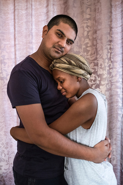 Thelma and Matin, Pretoria North, October 2015<br />
