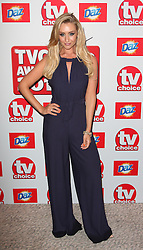 CATHERINE TYLDESLEY arriving at the TV Choice Awards in London, Monday, 9th September 2013. Picture by i-Images