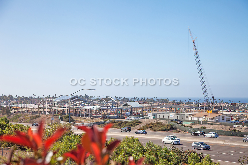 New Construction of the Outlets at San Clemente