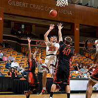 BUIES CREEK, NC - November 26th, 2017 - Campbell Camels and Bowling Green at Gilbert Craig Gore Arena in Buies Creek, NC. Photo By Bennett Scarborough