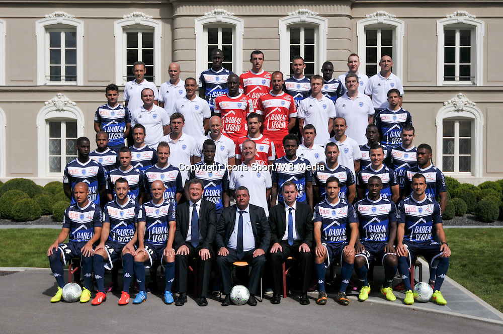 Equipe Troyes - 03.09.2014 - Photo Officielle Troyes - <br /> Photo : Philippe Le Brech / Icon Sport