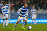Queens Park Rangers defender Dominic Ball (12) during the EFL Sky Bet Championship match between Queens Park Rangers and Middlesbrough at the Kiyan Prince Foundation Stadium, London, England on 9 November 2019.