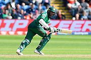 Shakib Al Hasan (vc) of Bangladesh batting during the ICC Cricket World Cup 2019 match between England and Bangladesh the Cardiff Wales Stadium at Sophia Gardens, Cardiff, Wales on 8 June 2019.