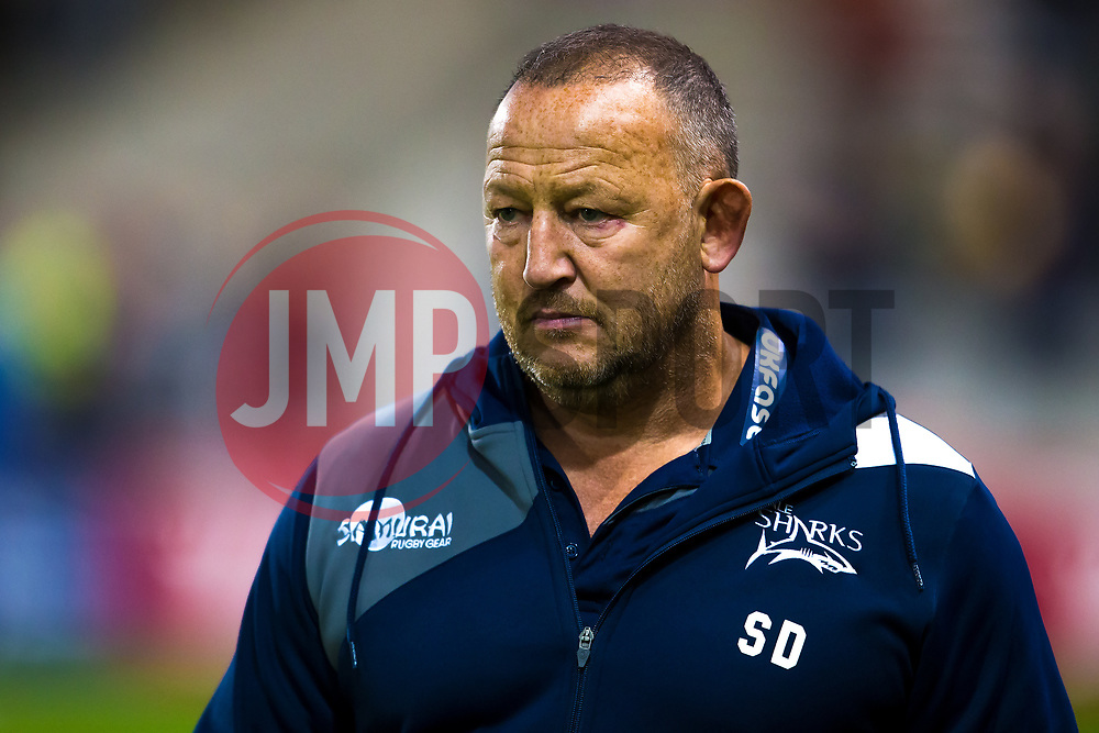 Sale Sharks' director of rugby Steve Diamond - Mandatory by-line: Matt McNulty/JMP - 15/09/2017 - RUGBY - AJ Bell Stadium - Sale, England - Sale Sharks v London Irish - Aviva Premiership