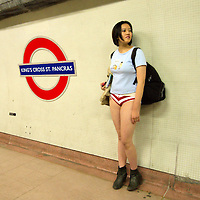 No Pants on the Subway Day in London