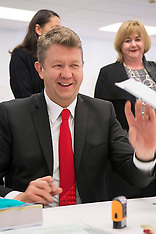 Christchurch-Labour leader David Cunnliffe votes