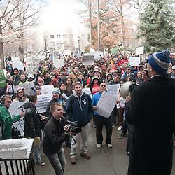 Nevada Legislature Budget Cuts Rally - Carson City, Nev. (032111)