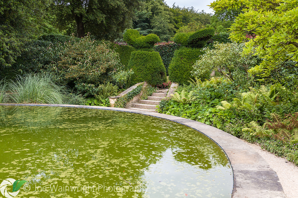 August in Hidcote Manor Garden, Gloucestershire. This is The Bathing Pool Garden.