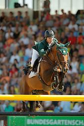 Sweetnam Shane, (IRL), Chaqui Z<br /> CSIO Nations Cup - Mannheim 2015<br /> © Hippo Foto - Stefan Lafrentz