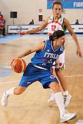 DESCRIZIONE : Ortona Italy Italia Eurobasket Women 2007 Bielorussia Italia Belarus Italy <br /> GIOCATORE : Giorgia Sottana <br /> SQUADRA : Nazionale Italia Donne Femminile EVENTO : Eurobasket Women 2007 Campionati Europei Donne 2007 <br /> GARA : Bielorussia Italia Belarus Italy <br /> DATA : 03/10/2007 <br /> CATEGORIA : Penetrazione <br /> SPORT : Pallacanestro <br /> AUTORE : Agenzia Ciamillo-Castoria/S.Silvestri Galleria : Eurobasket Women 2007 <br /> Fotonotizia : Ortona Italy Italia Eurobasket Women 2007 Bielorussia Italia Belarus Italy <br /> Predefinita :