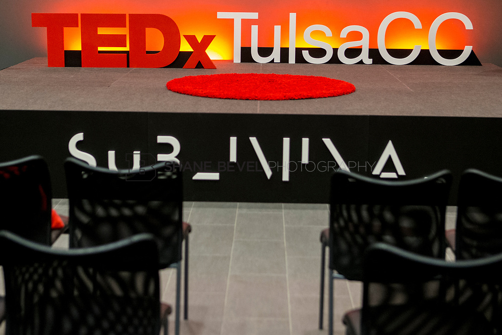 4/29/17 4:36:56 PM -- Tedx TulsaCC event at the Center for Creativity. Released under Creative Commons license for non commercial, non derivative usage. <br /> <br /> Photo by Shane Bevel