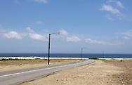 Road near Westpoint, Aruba.<br /> Weg over Westpunt, Aruba
