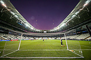 General view inside the Vodafone Park Stadium Besiktas during the Liverpool and Chelsea Training sessions ahead of the 2019 UEFA Super Cup Final between Liverpool FC and Chelsea FC at BJK Vodafone Park, Istanbul, Turkey on 13 August 2019.