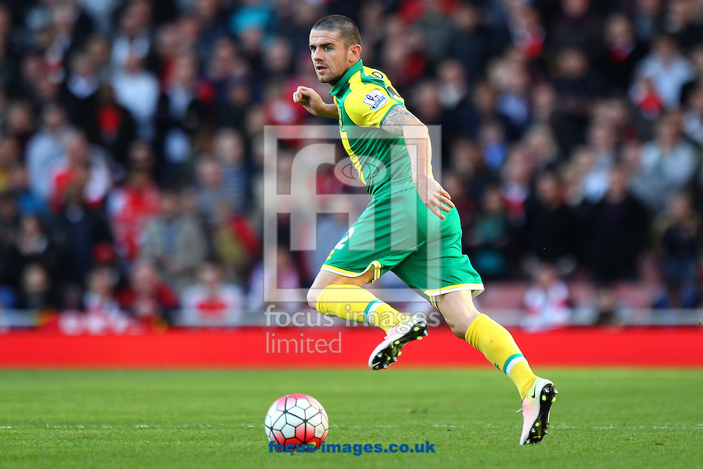 Robbie Brady of Norwich in action during the Barclays Premier League match at the Emirates Stadium, London, UK.<br /> Picture by Paul Chesterton/Focus Images Ltd +44 7904 640267<br /> 30/04/2016