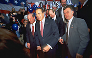 Presidential campaign rally for Bob Dole.