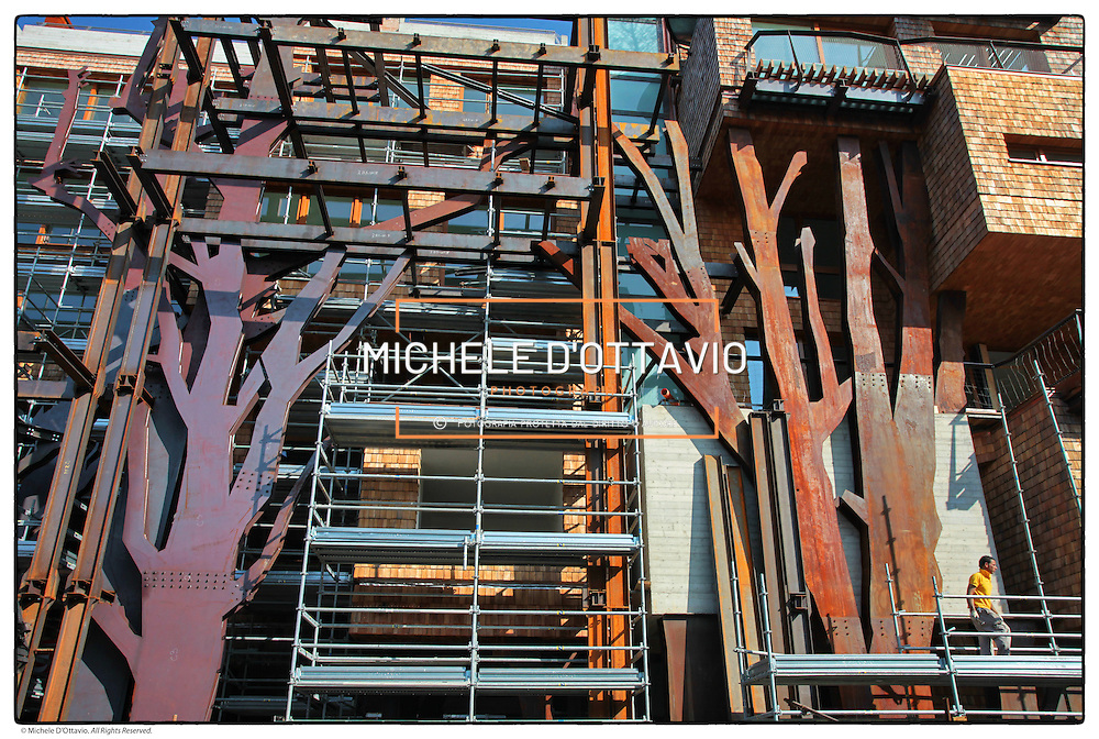cantiere Residenza 25 Verde, via Chiabrera 25 Torino