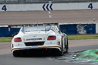 #2 Steve Tandy/James Appleby - Generation Bentley, Bentley Continental GT3 during British GT Championship race at Rockingham, Corby, Northamptonshire, United Kingdom. May 05 2014. World Copyright Peter Taylor/PSP. Copy of publication required for printed pictures.  Every used picture is fee-liable. http://archive.petertaylor-photographic.co.uk