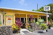 Hana Hou Restaurant, Naalehu, Big Island of Hawaii