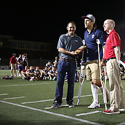 Paul Rabil #99 of the Boston Cannons poses for a photo following the game at Harvard Stadium on August 9, 2014 in Boston, Massachusetts. (Photo by Elan Kawesch)