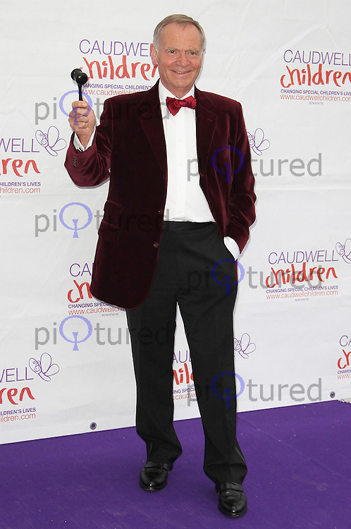 LONDON - MAY 31: Jeffrey Archer at the Caudwell Children Butterfly Ball 2012