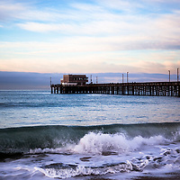 Newport Beach Pier Photo in Orange County Southern California.