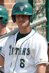 22 April 2006:  ....Titan Nate Rittenberry.....In CCIW, Division 3 action, the Titans of Illinois Wesleyan capped the Auggies of Augustana College by a scor of 3-2 in game one of a double card afternoon.  Games were held at Jack Horenberger field on the campus of Illinois Wesleyan University in Bloomington, Illinois