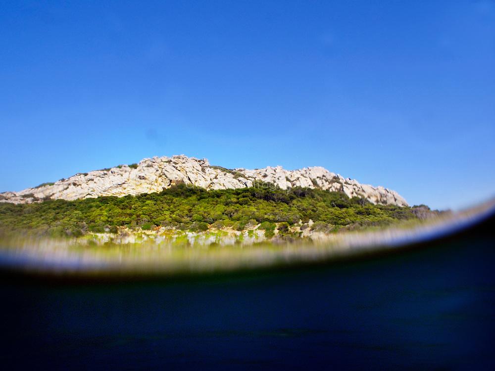 Les montagnes et l'eau, Porquerolles
