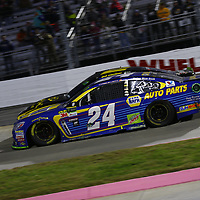 October 29, 2017 - Martinsville, Virginia, USA: Chase Elliott (24) battles for position during the First Data 500 at Martinsville Speedway in Martinsville, Virginia.
