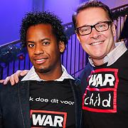 NLD/Hilversum/20121207 - Skyradio Christmas Tree, Rogier Komproe en Albert Verlinde
